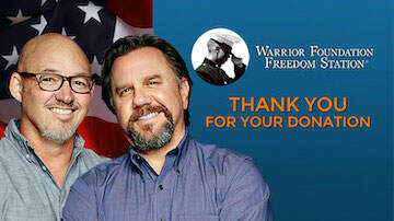 Armstrong and Getty - Time is Running Out!!  Donate to the Warrior Foundation Freedom Station.
