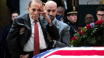 Paul James - Bob Dole Emotionally Pays His Respects to President George H.W. Bush