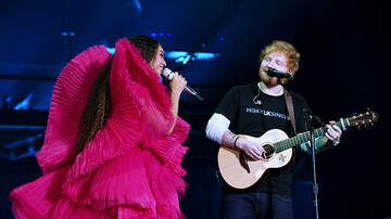 EJ - Beyoncé Gave Ed Sheeran A Look When He Messed Up During Their Duet
