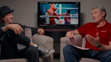 Paul and Al - Sly Stallone and Dolph Lundgren Discuss Rocky IV and Creed II