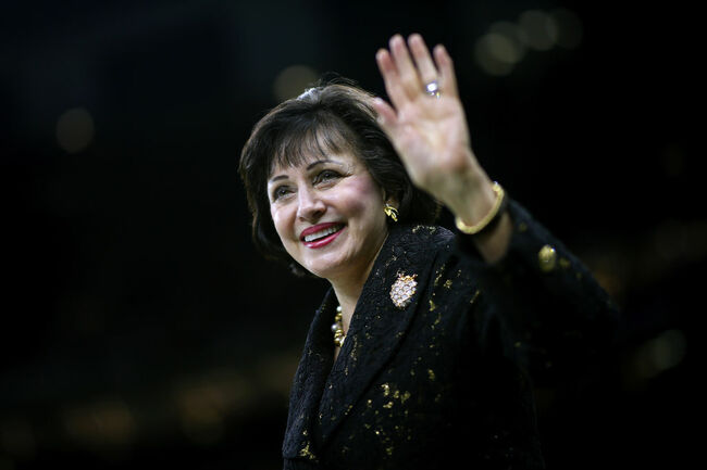 Gayle Benson Getty Images