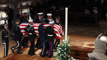 Politics - Former President George H.W. Bush Honored During State Funeral