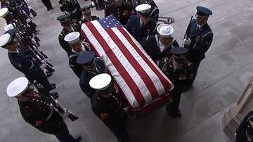 Shara Fryer - VIDEO: George H.W. Bush Funeral In Houston