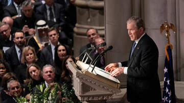 The Joe Pags Show - Watch President George W. Bush eulogize his father during state funeral