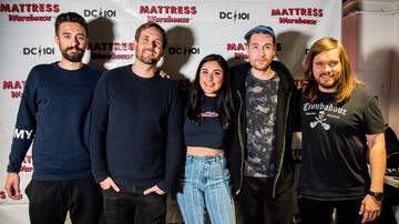 DC101 Office Party - Mattress Warehouse Gallery - Bastille Meet & Greet