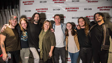 DC101 Office Party - Mattress Warehouse Gallery - The Glorious Sons Meet & Greet