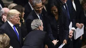 Jake Dill - George W Sneaks Michelle Obama Candy During Father's Funeral