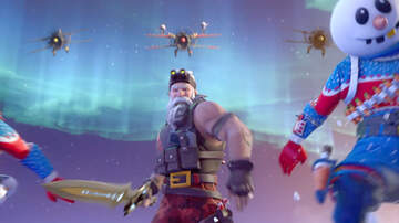 The Woody Show - Fortnite Season 7 Features a Muscley Santa Claus