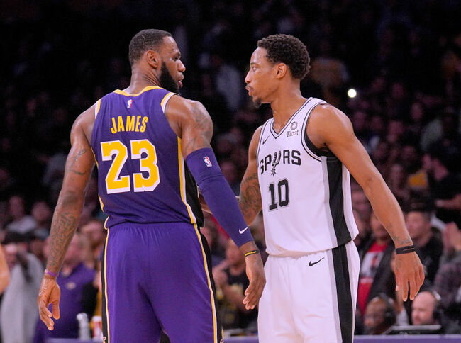 Spurs vs. Lakers