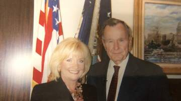 Shara Fryer - GALLERY: SHARA AND FRIEND GEORGE H.W. BUSH; HOME WITH TAMU