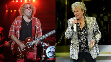 Rock News - Sammy Hagar Credits Rod Stewart With Inspiring Stage Persona