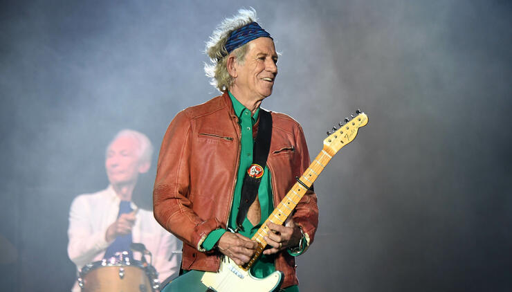 keith richards says the rolling stones could release new album in 2019 iheartradio. Black Bedroom Furniture Sets. Home Design Ideas