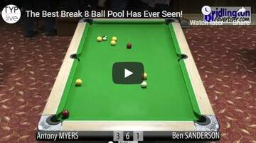 Nick Wize - A Guy Sinks Seven Balls on the Break Shot