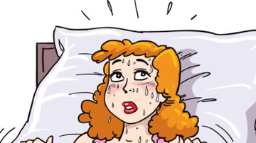 Jana - Sweating in your sleep? Don't panic. It's not the change.