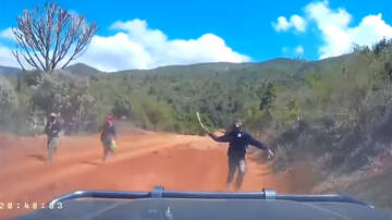 The KiddChris Show - Terrifying Video Shows American Couple Being Chased By Machete-Wielding Men