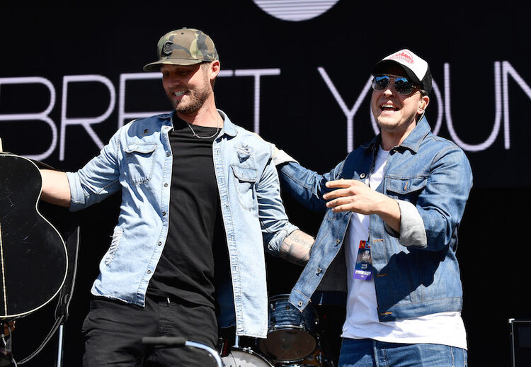 Brett Young, Gavin DeGraw