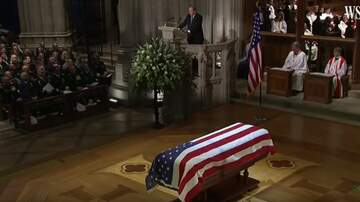 The Russ Martin Show - George W. Bush Gives Emotional Eulogy for His Dad