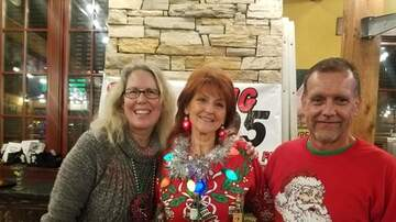 Big 95 Morning Show - Big 95 Party Pics: Dewayne & Tamme get festive at Don Carlos