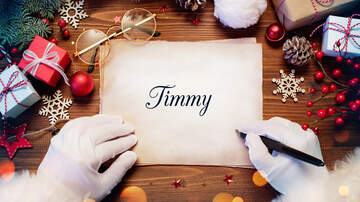 Christmas Wish - Timmy's Letter