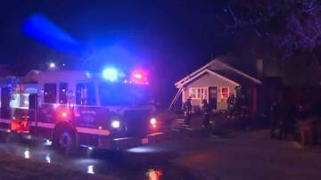 Local News - Man, wife escape burning house in Des Moines, with burns