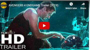 Tony TNT Tilford - Avengers 4 Endgame   The trailer is finally here