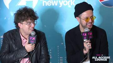 Z100's Jingle Ball - lovelytheband Bonded With 5 Seconds of Summer on European Tour