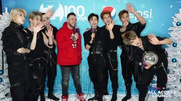 Z100's Jingle Ball - Monsta X Explains How They Do Christmas in Korea