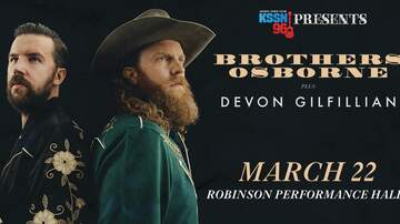 None - KSSN 96 Presents: Brothers Osborne at Robinson Center!