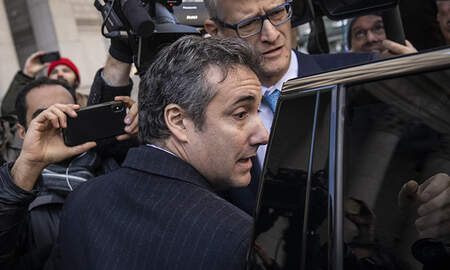 Politics - Federal Prosecutors Say Michael Cohen Should Face Substantial Prison Term