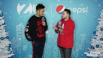 Z100's Jingle Ball - Bryce Vine Doesn't Want to Wake Up