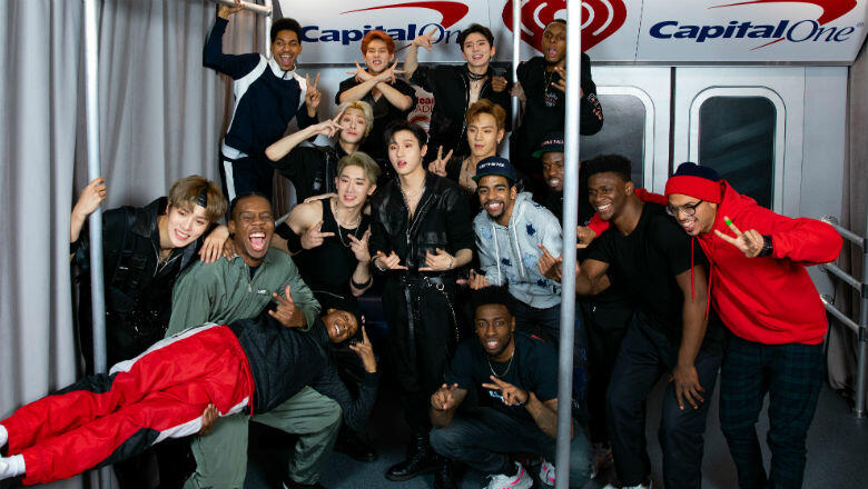 Watch MONSTA X Get Into a Dance Battle Backstage at iHeartRadio Jingle Ball