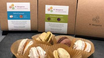 The Afternoon News with Kitty O'Neal - Friday Food: Rustic, Delicious Macarons from W. Margaron