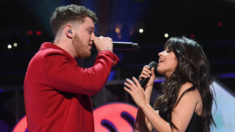 Camila Cabello & Bazzi Perform 'Beautiful' For The First Time Together