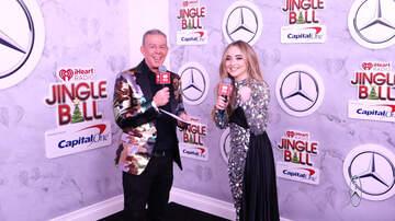 Mercedes-JB Interviews - Sabrina Carpenter Reflects On A Great 2018 At iHeartRadio Jingle Ball
