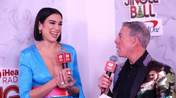 Jingle Ball - Dua Lipa Had The Cutest Reaction To Her First Grammy Nomination