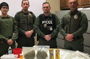 Cops Pose for the Saddest Drug Bust and the Comments are Hilarious