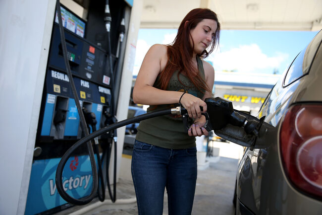 gas prices fall to the lowest price since march