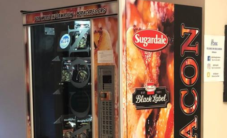 National News - Bacon Vending Machine Comes to Ohio State, Just in Time for Finals
