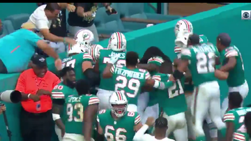 Bill Ellis - Dolphins Beat Pats With A Miami Miracle!