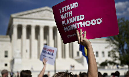 Political Junkie - Supreme Court Refuses To Hear Planned Parenthood Case