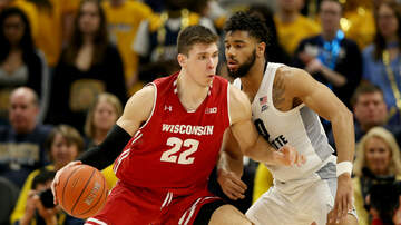 Wisconsin Badgers - Ethan Happ named co-Big Ten Player of the Week