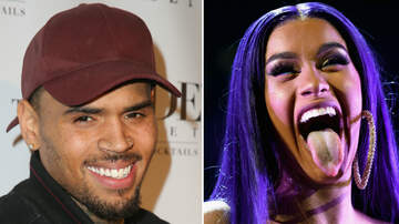 Music News - Is Chris Brown Trying To Shoot His Shot At Cardi B?