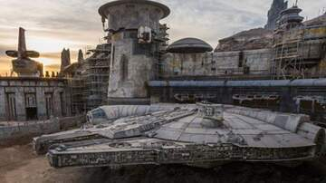 Harms - Disneyland Shares Photo of Their New Millennium Falcon
