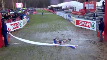 Producer Brent - Runner Faceplants Into Finish Line