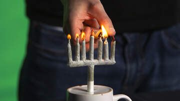 Corey & Patrick In The Morning - How to Light Up with a Menorah-Shaped Joint