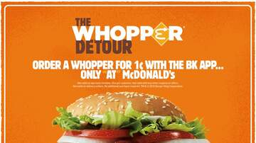 Cindy Scull Mornings - Burger King's 1 cent Whopper Promotion Charged a guy $1100 for a burger