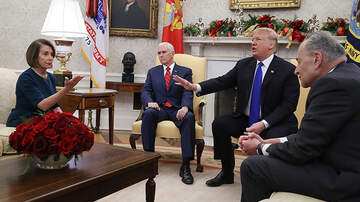 Politics - President Trump Spars With Pelosi And Schumer During Oval Office Meeting