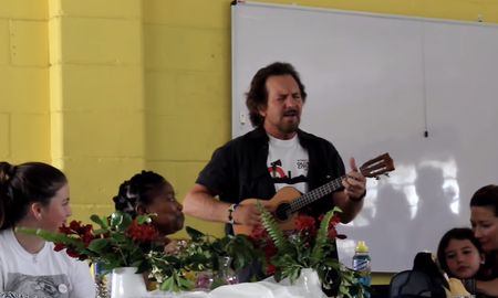 Rock News - Eddie Vedder Covers The Beatles For South African School Choir: Watch
