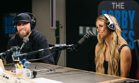 Bobby Bones - Brantley Gilbert Was Afraid to Call Lindsay Ell About Collaboration