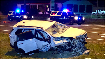 Tampa Local News -  Wrong Way Driver Blamed For Crash On  East Bound  S.R. 60